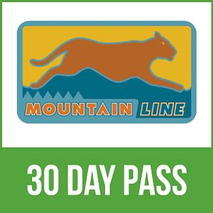 Mountain Line 30-day pass - Flagstaff bus service