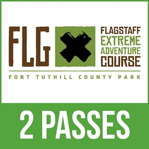 Flagstaff Extreme Adventure Course - 2 Passes