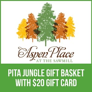 Pita Jungle Gift Basket with $20 Gift Card