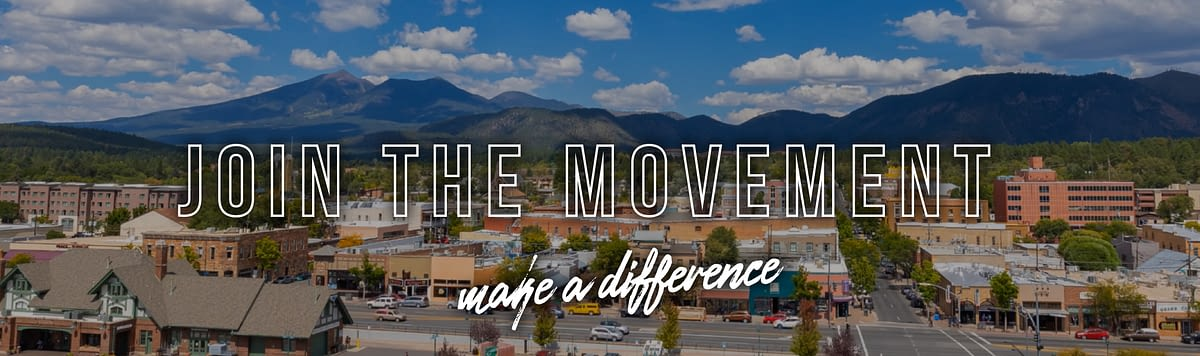 Join The Movement -make a difference